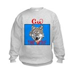 The Cherokee Wolf Kids Sweatshirt