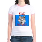 The Cherokee Wolf Jr. Ringer T-Shirt