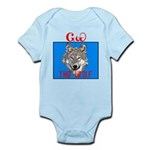 The Cherokee Wolf Infant Bodysuit