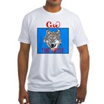 The Cherokee Wolf Fitted T-Shirt