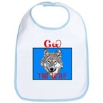 The Cherokee Wolf Bib