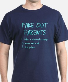 Fake out parents Stomach cram T-Shirt