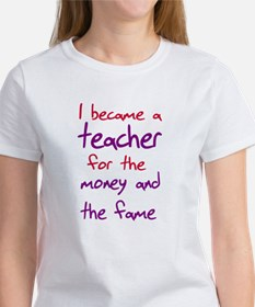 Funny teacher shirts humoring Tee