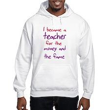 Funny teacher shirts humoring Jumper Hoody
