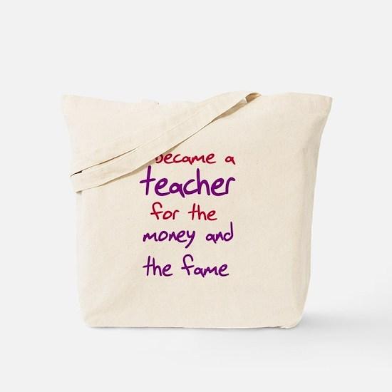 Funny teacher shirts humoring Tote Bag
