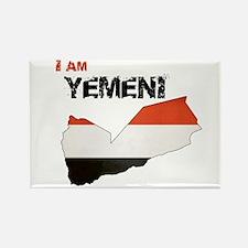 I am Yemeni Rectangle Magnet