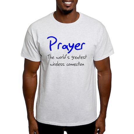 Prayer The World's Greatest W Light T-Shirt