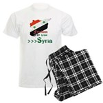 Freedom for Syria Men's Light Pajamas