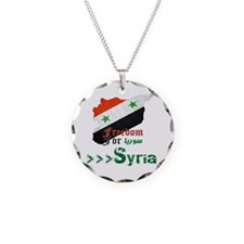 Freedom for Syria Necklace