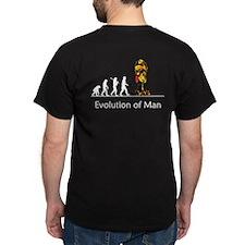 """""""Evolution"""" of Man - War (dar T-Shirt"""