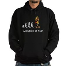"""Evolution"" of Man - War (dar Hoodie"