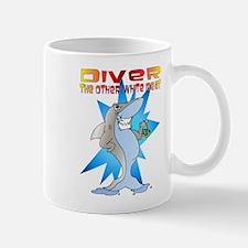 Shark eats Diver Mug