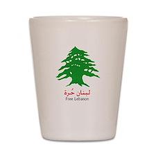 Lebanon Tree and the Israeli Shot Glass