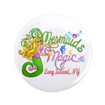 """Mermaid Magic 3.5"""" Button (100 pack)"""