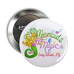 """Mermaid Magic 2.25"""" Button (100 pack)"""