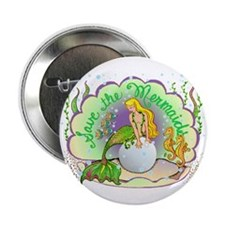 """Pearl 2.25"""" Button (10 pack)"""