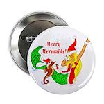 "Merry Mermaids 2.25"" Button (10 pack)"
