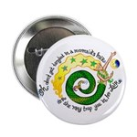 """Don't get tangled 2.25"""" Button (10 pack)"""