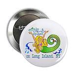 """Mermaid Lagoon 2.25"""" Button (10 pack)"""