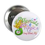 """Mermaid Magic 2.25"""" Button (10 pack)"""