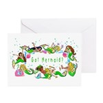 Got Mermaid? Greeting Cards (Pk of 20)