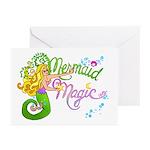 Mermaid Magic Greeting Cards (Pk of 20)