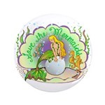 """Pearl 3.5"""" Button (100 pack)"""