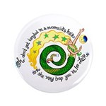 """Don't get tangled 3.5"""" Button (100 pack)"""