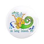 """Mermaid Lagoon 3.5"""" Button (100 pack)"""