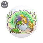 """Pearl 3.5"""" Button (10 pack)"""