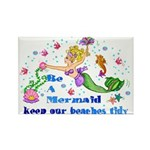 Be a Mermaid Rectangle Magnet (100 pack)