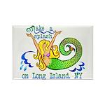 Mermaid Lagoon Rectangle Magnet (100 pack)