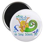"""Mermaid Lagoon 2.25"""" Magnet (100 pack)"""