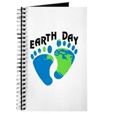 Earth Day Footprints Journal