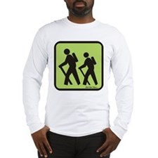Cute Hiker Long Sleeve T-Shirt