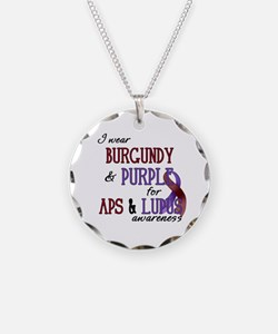 For APS & Lupus Awareness Necklace