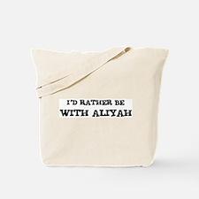 With Aliyah Tote Bag