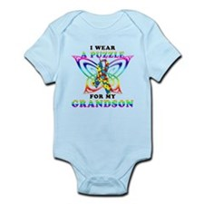 I Wear A Puzzle for my Grandson Infant Bodysuit