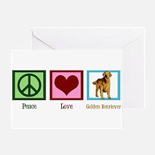 Cute Golden Retriever Greeting Card