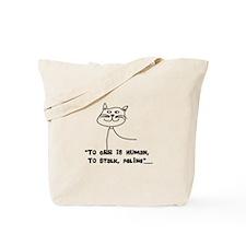 Cat Lovers/Veterinary Tote Bag