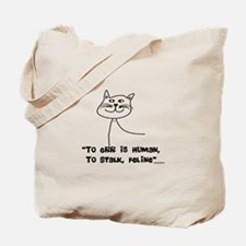 Cat Lovers/Veterinary Tote Bag