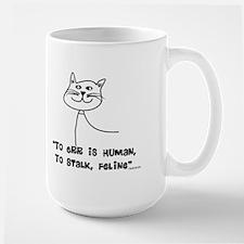 Cat Lovers/Veterinary Large Mug