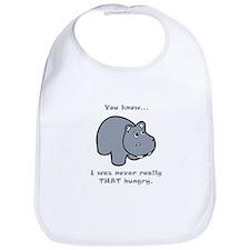 Not So Hungry Hippo Bib