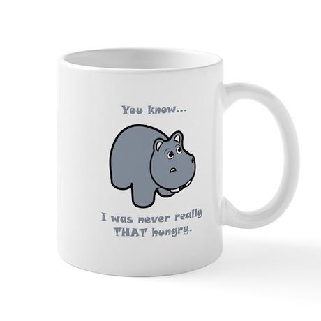 Not So Hungry Hippo Mug