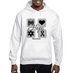 Hope Inspires Melanoma Hooded Sweatshirt