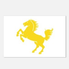 Yellow Stallion Postcards (Package of 8)