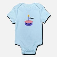 Ouch Cupcake Infant Bodysuit