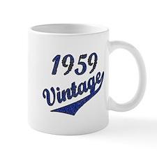 1959 Vintage Blue Mugs