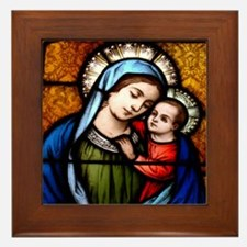 Our Lady of Good Counsel Framed Tile