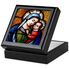 Our Lady of Good Counsel Keepsake Box
